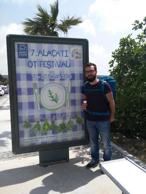 7. Alaçatı Ot Festivali Afişi