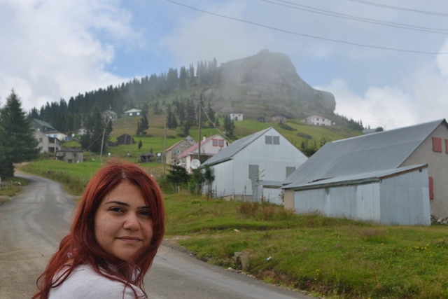 Sis dağı kalpak kaya