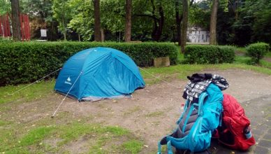 Duisburg çadır