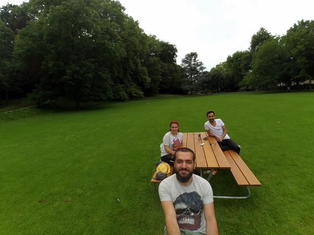 Basel Margarethen Park, Basel çadır kurulacak yer
